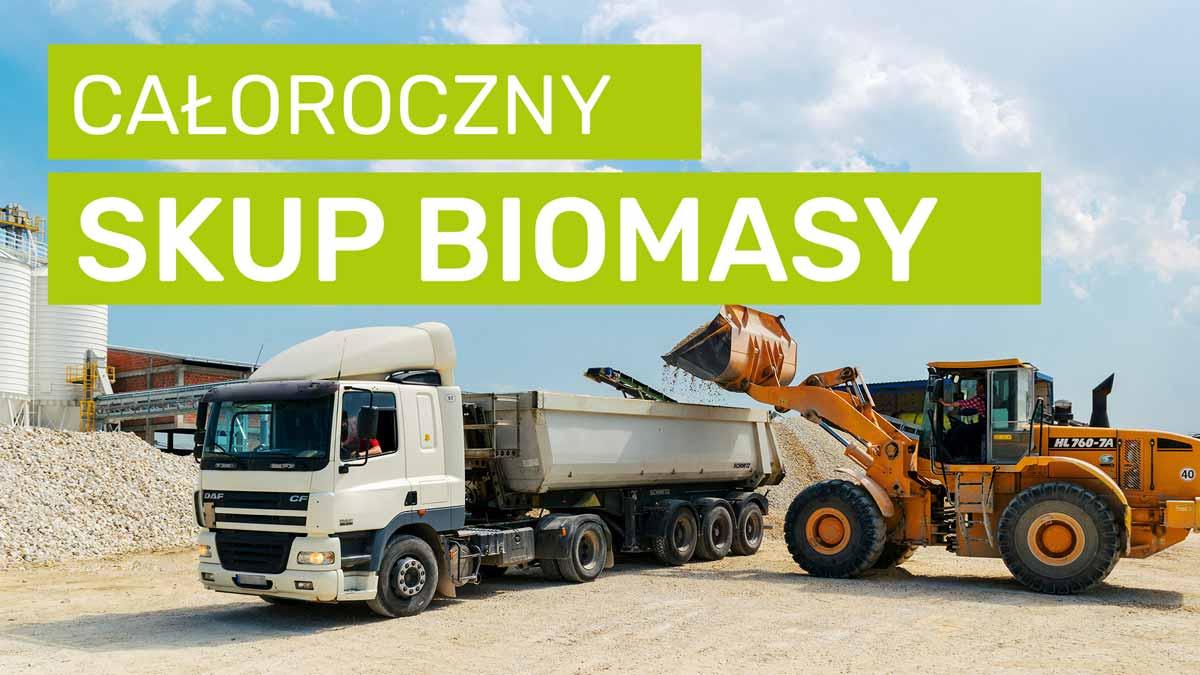 Polska biomasa   całoroczny skup biomasy na terenie Polski